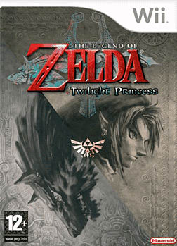 The Legend of Zelda: Twilight Princess Wii Cover Art