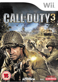 Call of Duty 3 Wii Cover Art