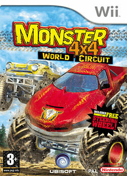 Monster 4x4: World Circuit Wii Cover Art