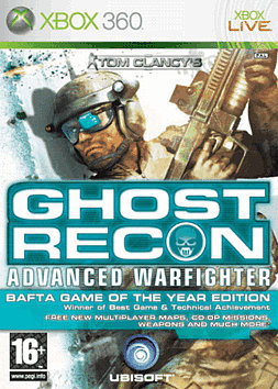 Ghost Recon Advanced Warfighter Game of the Year Edition Xbox 360 Cover Art