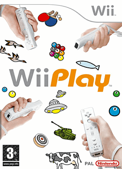 Wii Play Solus Wii Cover Art