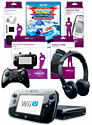 Black Wii U Mega Bundle with Sonic & SEGA Racing Transformed