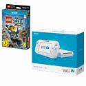 White Wii U Basic Console with LEGO City: Undercover
