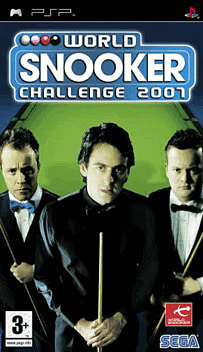 World Snooker Championship 2007 PSP Cover Art