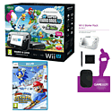 Black Wii U Mario and Luigi Premium Pack with GAMEware Starter Pack and Mario & Sonic at the Sochi 2014 Winter Olympic Games