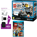 Black Wii U Premium with LEGO City: Undercover, GAMEware Starter Pack and The LEGO Movie Videogame