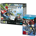 Black Wii U Premium with Mario Kart 8 and Bayonetta 2 Special Edition