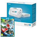 White Wii U Basic with Mario Kart 8