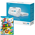 White Wii U Basic with Super Mario 3D World