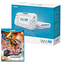 White Wii U Basic with Hyrule Warriors