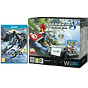 Black Wii U Premium with Mario Kart 8, Bayonetta 2, Wii U Screen Protection Kit and Wii U Game Pad Silicon Skin