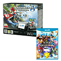Black Wii U Premium with Mario Kart 8 and Super Smash Bros