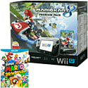 Black Wii U Premium with Mario Kart 8 and Super Mario 3D World