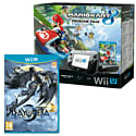 Black Wii U Premium with Mario Kart 8 and Bayonetta 2