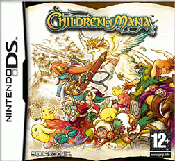 Children of Mana DSi and DS Lite Cover Art