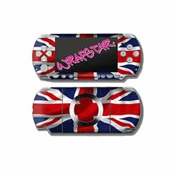 Wrapstar Union Jack Graphic Skin for PSP Slim & Lite Accessories