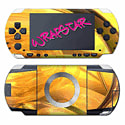 Wrapstar Yellow Brightness Skin for PSP Accessories