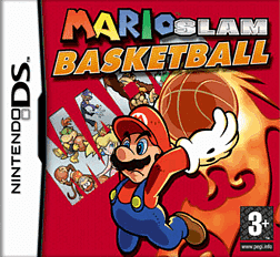 Mario Slam Basketball DSi and DS Lite Cover Art
