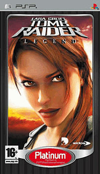 Lara Croft Tomb Raider: Legend - Platinum PSP Cover Art