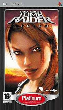 Lara Croft Tomb Raider: Legend - Platinum PSP