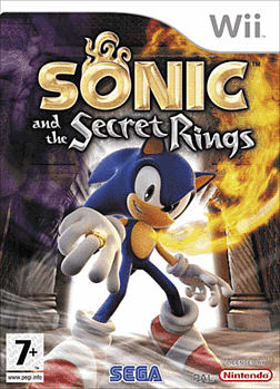 Sonic and the Secret Rings Wii Cover Art