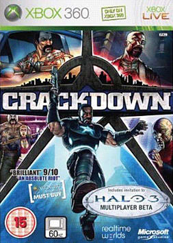 Crackdown Xbox 360 Cover Art