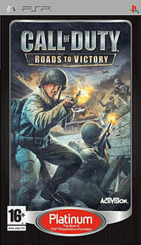 Call of Duty: Roads to Victory PSP Cover Art