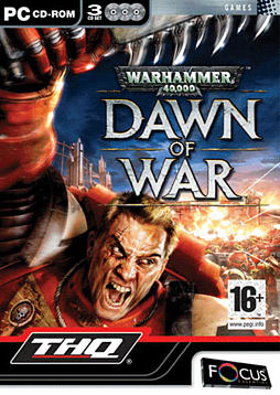 Warhammer 40K Dawn of War PC Games and Downloads Cover Art