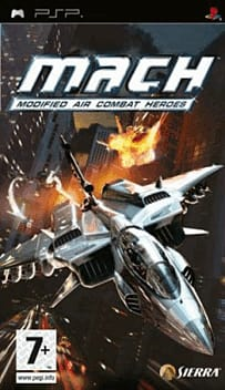 MACH: Modified Air Combat Heroes PSP Cover Art