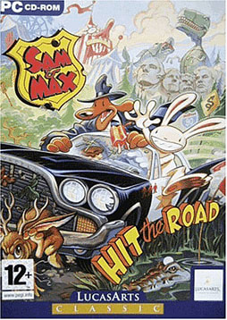 Sam & Max - Lucas Classic Line PC Games Cover Art