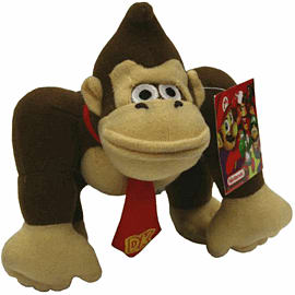 Donkey Kong Small Soft Toy Toys and Gadgets