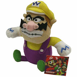 Wario Small Soft Toy Toys and Gadgets