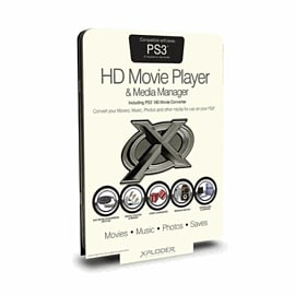 Xploder HD Movie Player and Media Manager For PlayStation 3 Accessories