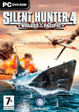 Silent Hunter 4: Wolves of the Pacific PC Games and Downloads Cover Art