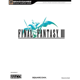 Final Fantasy III Strategy Guide Strategy Guides and Books