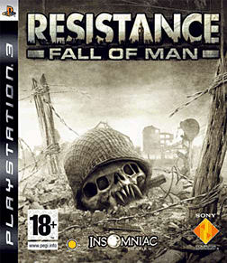 Resistance: Fall of Man PlayStation 3 Cover Art