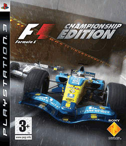 Formula One: Championship Edition PlayStation 3 Cover Art