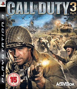 Call of Duty 3 PlayStation 3 Cover Art