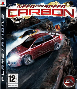Need For Speed: Carbon PlayStation 3 Cover Art