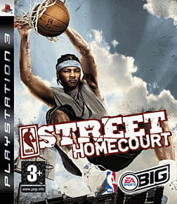 NBA Street Homecourt PlayStation 3 Cover Art