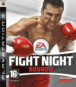 Fight Night Round 3 PlayStation 3 Cover Art