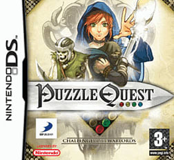 Puzzle Quest: Challenge of the Warlords DSi and DS Lite Cover Art