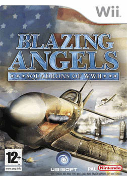 Blazing Angels: Squadrons of WWII Wii Cover Art