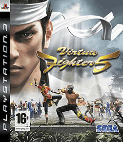Virtua Fighter 5 PlayStation 3 Cover Art