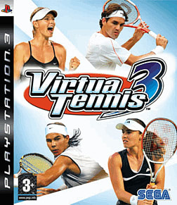 Virtua Tennis 3 PlayStation 3 Cover Art