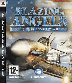 Blazing Angels: Squadrons of World War II PlayStation 3 Cover Art