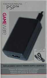 GAMEware PSP Mains Power Supply Adaptor Accessories 