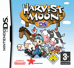 Harvest Moon DS DSi and DS Lite Cover Art