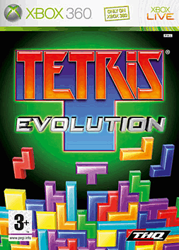 Tetris Evolution - Exclusive Xbox 360 Cover Art