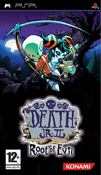 Death Jnr. 2 - Root of Evil PSP Cover Art